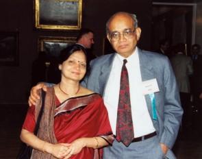 Заморские гости: Профессор Cуд (Индия) с супругой