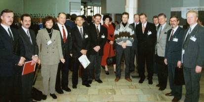 Группа участников и организаторов Первого курса