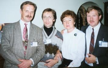 Преподаватели курса (слева направо): В.Козлов, А.Лопатин, Н.Арефьева, С.Рязанцев