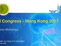 Всемирный ринологический конгресс состоится в Гонконге 1-3 сетября 2017 г