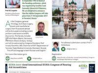 Анонс юбилейного конгресса Российского общества ринологов в ENT& Audiology News