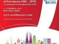 4-й Конгресс Европейской Академии оториноларингологии, хирургии головы и шеи, Барселона, 7-11 октября 2017
