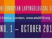 12-й Конгресс Европейского ларингологического общества состоится 16-19 мая 2018 г. в Лондоне