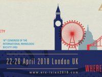 Конгресс Европейского общества ринологов в сочетании с 37-мым Конгрессом Международного Общества воспалительных и аллергических заболеваний носа и 19-ым Конгрессом Международного общества ринологов состоится 22-26 апреля 2018 г. в Лондоне