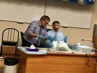 В эти дни ровно год назад в Санкт-Петербурге  состоялся курс по FESS c Хайнцем Штаммбергером