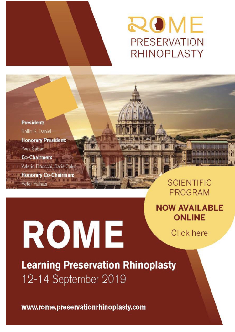 Ринопластика, Рим