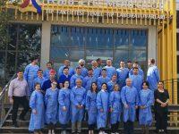 Отчет о международном курсе базисной и расширенной диссекции околоносовых пазух, височной кости, переднего и латерального отделов основания черепа, состоявшимся 25-29 октября 2019 г. в Анкаре