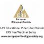 Европейское общество ринологов опубликовало серию видеосюжетов  по COVID-19 для ринологов